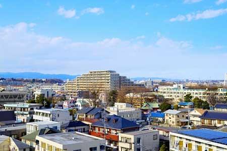 地域の街並みのイメージ画像